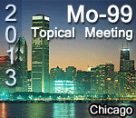 2013 Mo-99 Topical Meeting (Chicago)